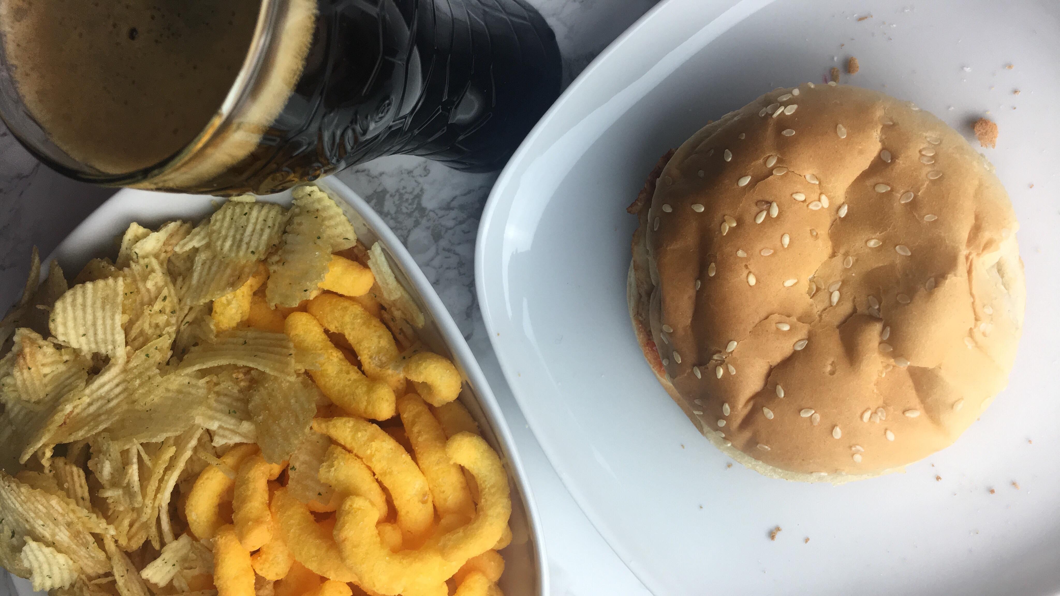 A healthy snack